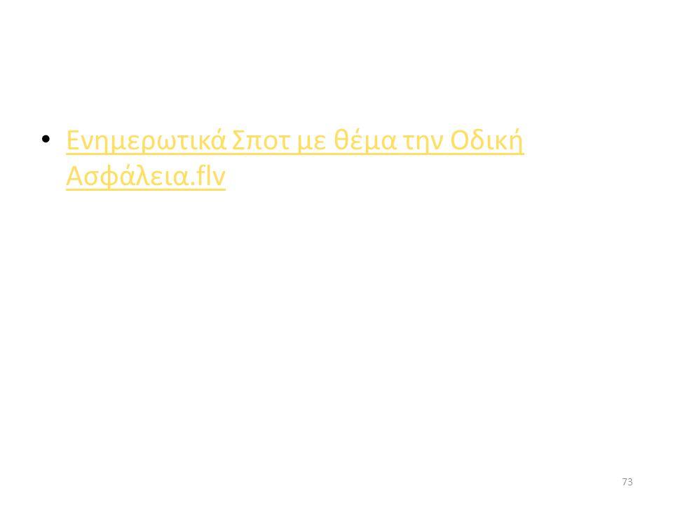 ΝΟΜΟΘΕΣΙΑ ΓΙΑ ΤΙΣ ΠΙΝΑΚΙΔΕΣ ΣΗΜΑΝΣΗΣ ΚΑΙ ΕΥΡΕΣΗ ΣΧΕΤΙΚΩΝ ΒΙΝΤΕΟ 72