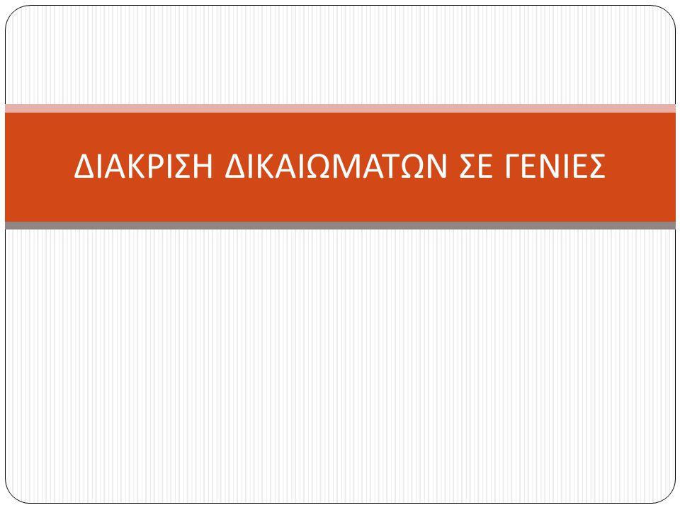 Το Ελληνικό Σύνταγμα Στα άρθρα 4 έως 25 κατοχυρώνονται ατομικά, πολιτικά και κοινωνικά δικαιώματα όπως Η προσωπική ασφάλεια Το άσυλο της κατοικίας Η θρησκευτική ελευθερία Το δικαίωμα του « εκλέγειν » και « εκλέγεσθαι » Το δικαίωμα στην υγεία, στην παιδεία, στην εργασία Η ελευθερία της έκφρασης Η ελευθερία της τέχνης και της επιστήμης