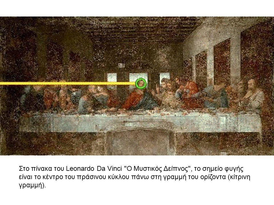 Στο πίνακα του Leonardo Da Vinci