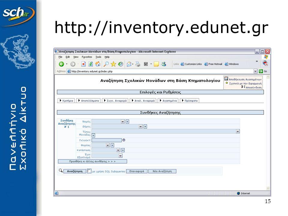 15 http://inventory.edunet.gr