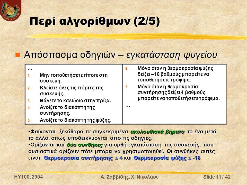 HY100, 2004Α. Σαββίδης, Χ.