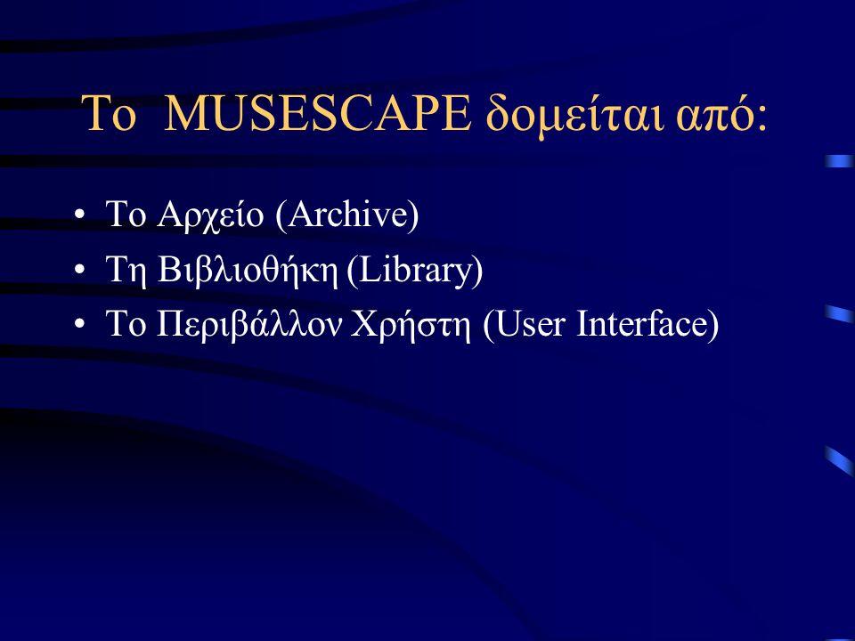 Λειτουργίες - Χαρακτηριστικά Κάθε μουσικό αρχείο περιλαμβάνει κάποιους περιγραφείς που το χαρακτηρίζουν, όπως τίτλος τραγουδιού, όνομα καλλιτέχνη κ.α.