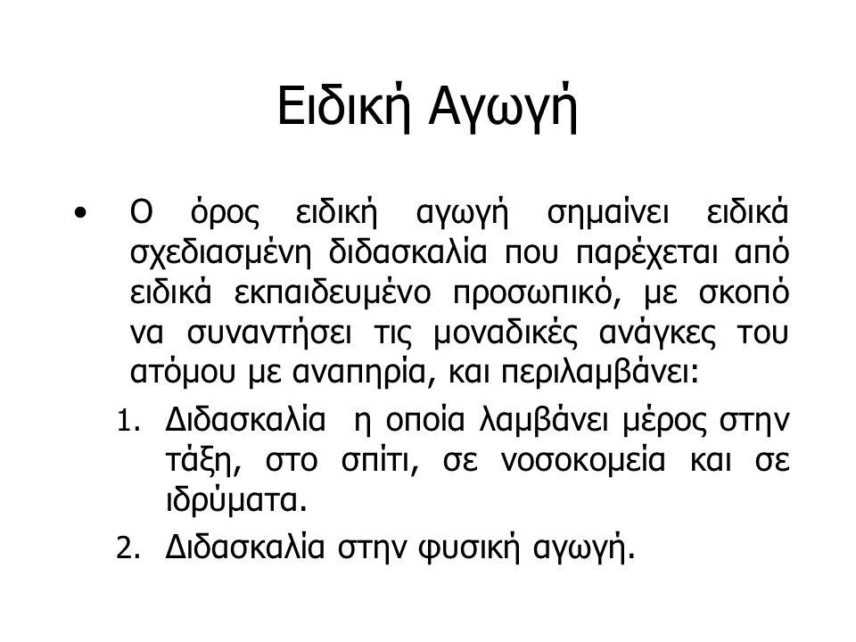 Εξέλιξη της Ειδικής Αγωγής στην Ελλάδα Οίκος τυφλών (1906).