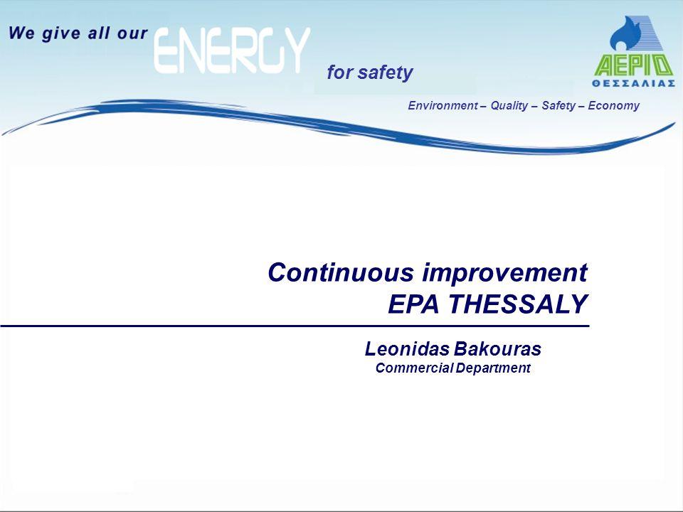Περιβάλλον – Ποιότητα – Ασφάλεια - Οικονομία for safety Για την έκδοση της οικοδομικής άδειας απαιτείται μελέτη Καυσίμου Αερίου σύμφωνα με το Π.Δ.