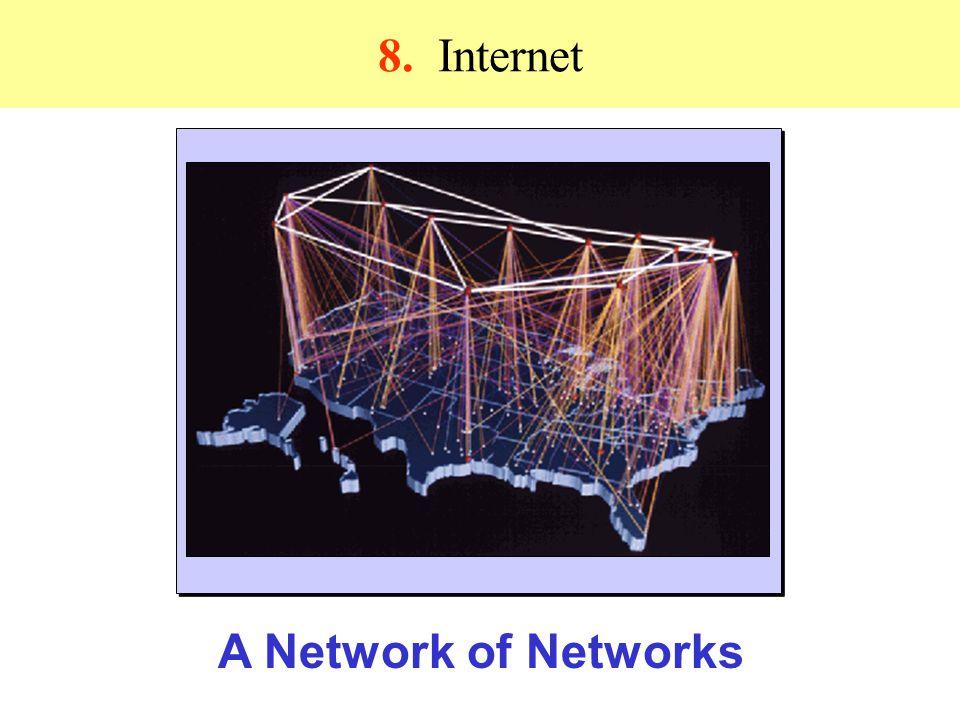 8. Ιnternet A Network of Networks