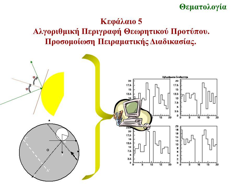 Κεφάλαιο 5 Αλγοριθμική Περιγραφή Θεωρητικού Προτύπου.