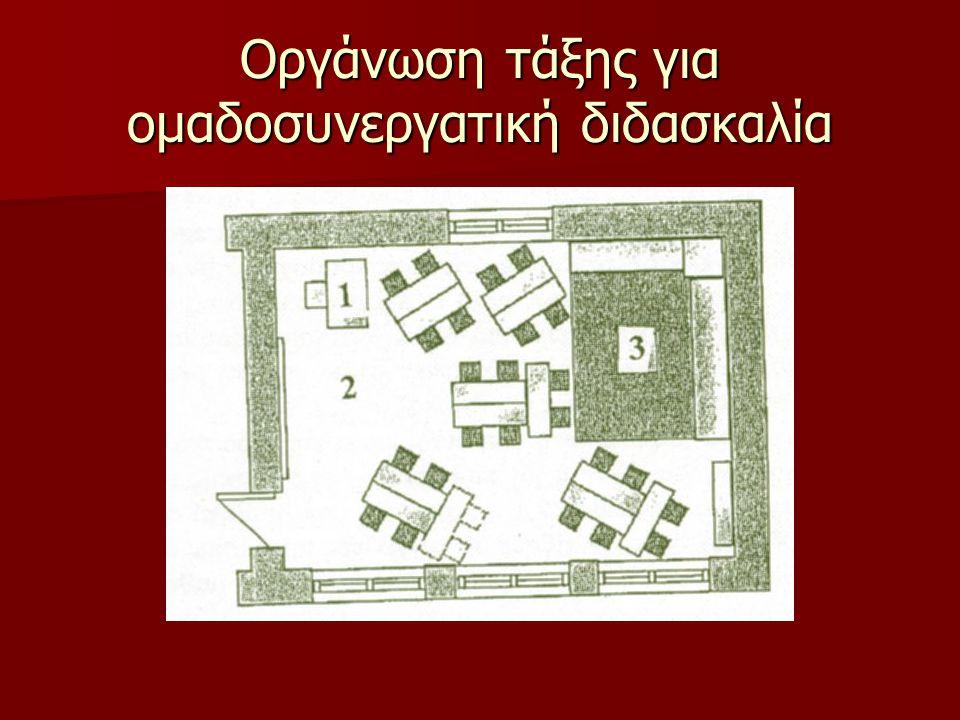 Οργάνωση τάξης για ομαδοσυνεργατική διδασκαλία