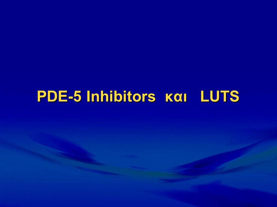 PDE-5 Inhibitors και LUTS
