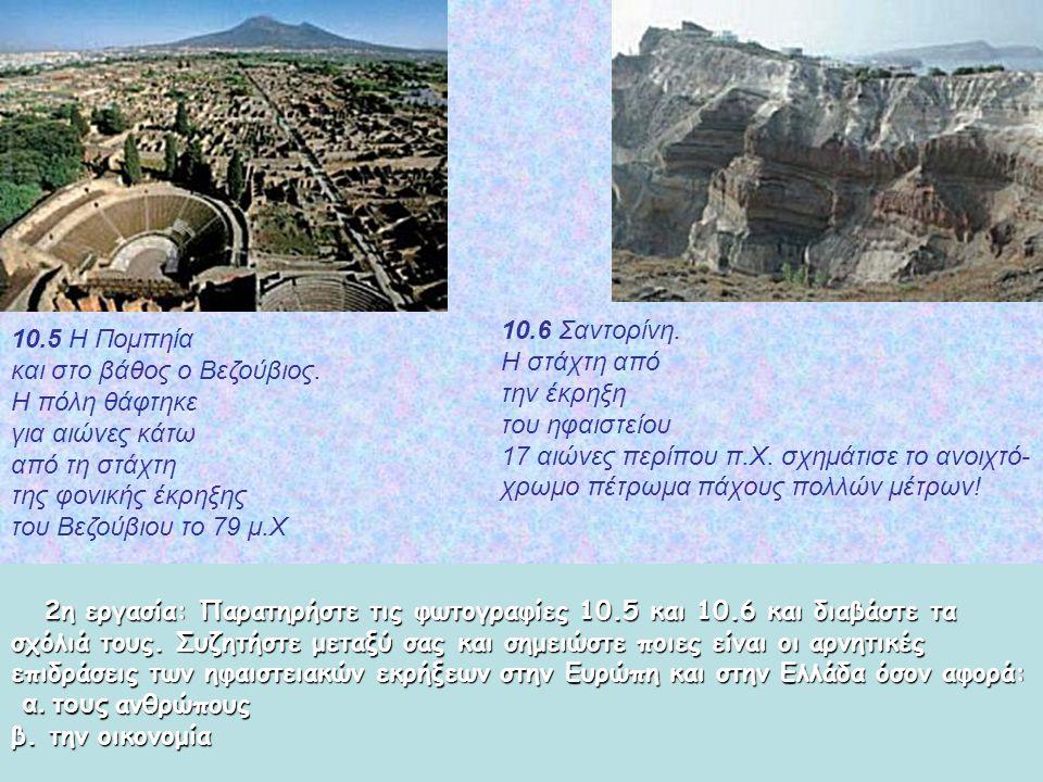 2η εργασία: Παρατηρήστε τις φωτογραφίες 10.5 και 10.6 και διαβάστε τα σχόλιά τους.