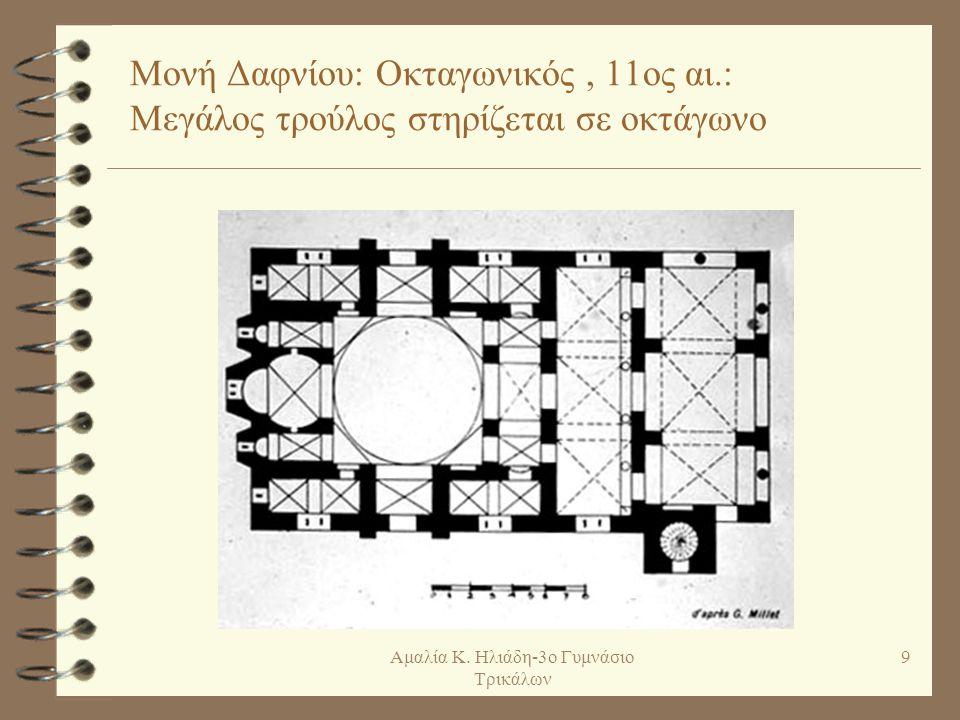 Παραλλαγή αυτού του ρυθμού είναι ο εγγεγραμμένος οκτάγωνος ναός.
