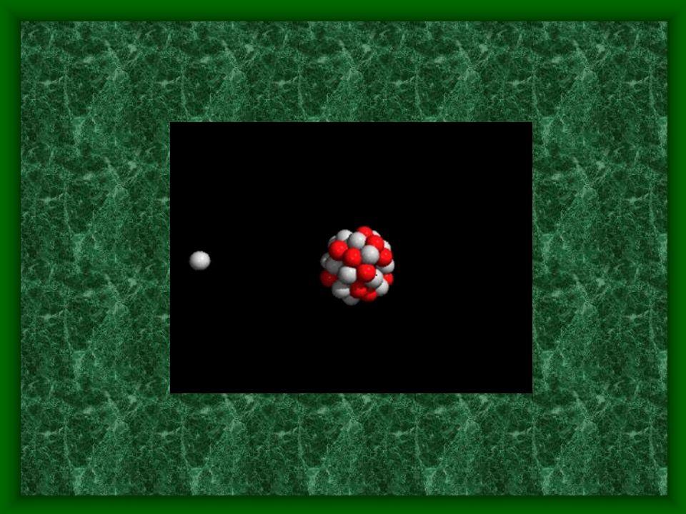 Πυρηνική σχάση Κατά τη σχάση, ένας βαρύς πυρήνας βομβαρδίζεται από νετρόνια και διασπάται σε δύο μικρότερους πυρήνες.