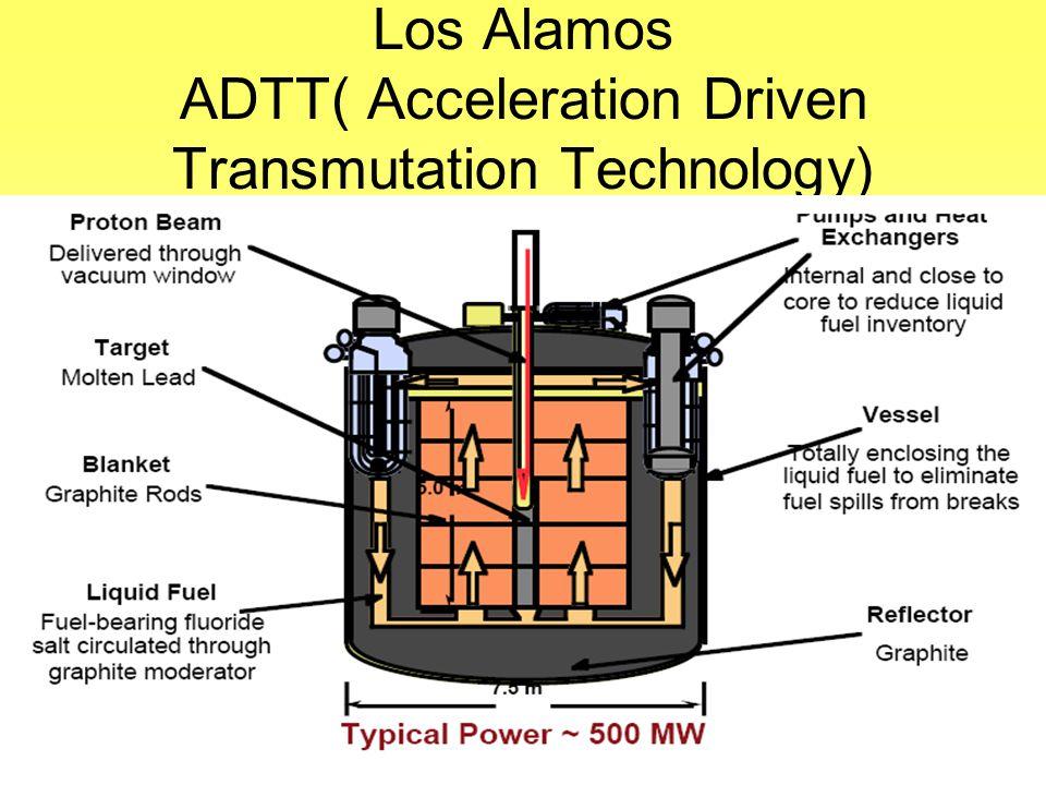 Los Alamos ADTT( Acceleration Driven Transmutation Technology)