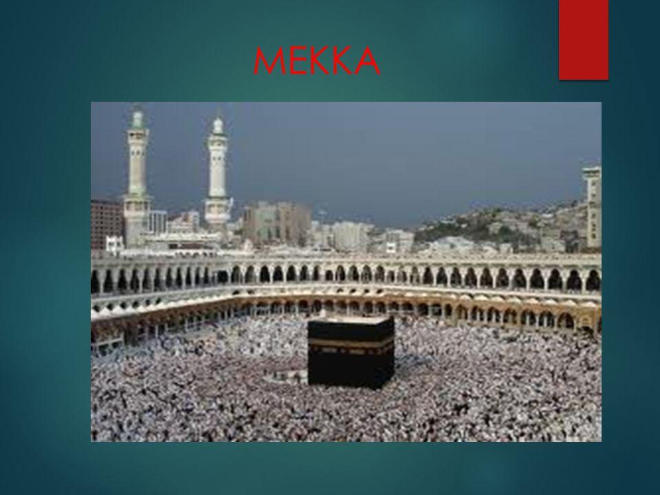 Γιορτές στη Μέκκα  Γιορτή της Θυσίας ή αλλιώς Κουρμπάν Μπαϊράμ (Eid Al- Adha )  Η γιορτή του λιθοβολισμού του Σατανά στην Μίνα, κατά την τελική φάση του προσκυνήματος στη ιερή πόλη της Μέκκας, που συμπίπτει με την πρώτη ημέρα της γιορτής Άιντ αλ Άντχα (της θυσίας)