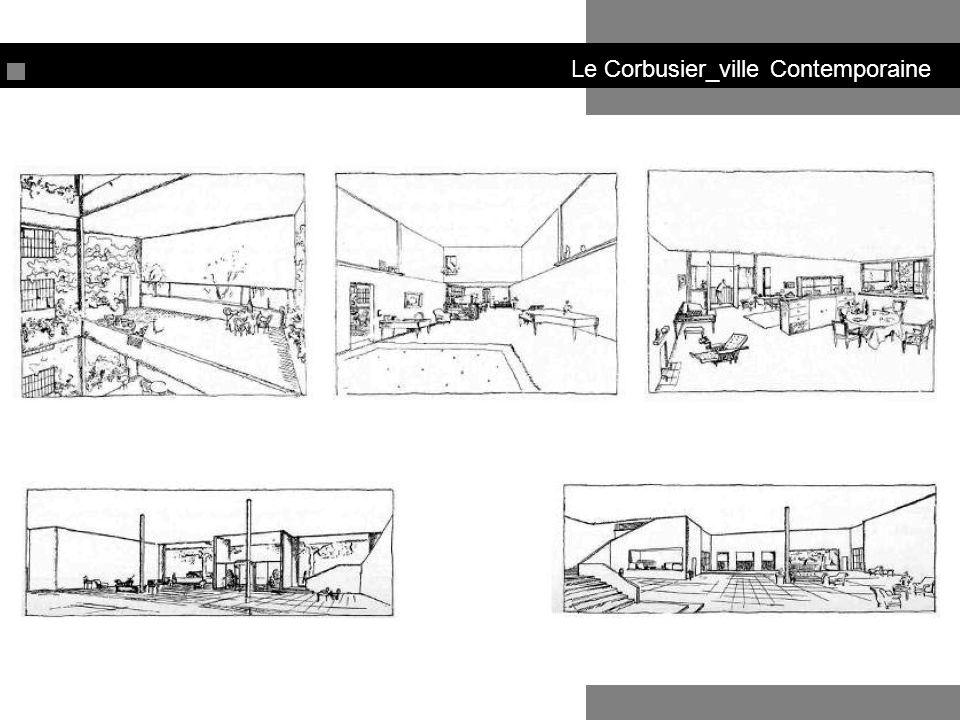 Le Corbusier_ville Radieuse Ville Radieuse (1931)
