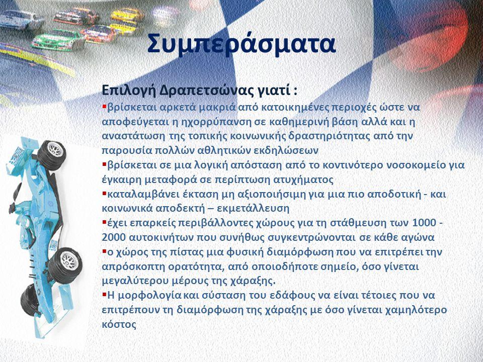 Συγκριτικά Μεγέθη Εκτιμώμενη Προσέλευση στο Grand Prix του 2011 ΗμέρεςΠέμπτηΠαρασκευήΣάββατοΚυριακήΣύνολο Προσέλευση42.19068.67076.357110.970298.187 Π
