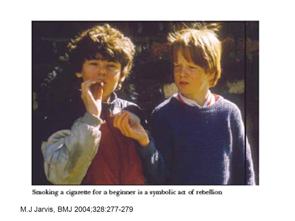 M.J Jarvis, BMJ 2004;328:277-279
