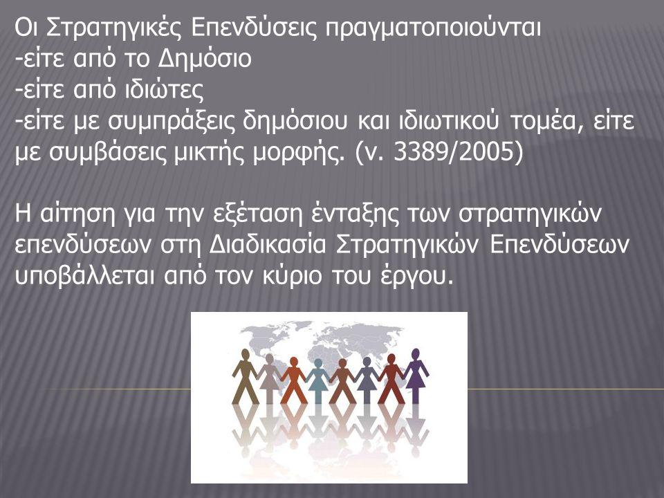 Συνιστάται Διυπουργική Επιτροπή Στρατηγικών Επενδύσεων (Δ.Ε.Σ.Ε.), στην οποία μετέχουν : ως Πρόεδρος ο : Υπουργός Ανάπτυξης, Ανταγωνιστικότητας και Ναυτιλίας ως μέλη οι : Υπουργοί Οικονομικών, Εξωτερικών, Περιβάλλοντος, Ενέργειας και Κλιματικής Αλλαγής, Υποδομών, Μεταφορών και Δικτύων, Πολιτισμού και Τουρισμού και ο αρμόδιος κατά περίπτωση Υπουργός, ο οποίος εισηγείται το θέμα της αρμοδιότητάς του.