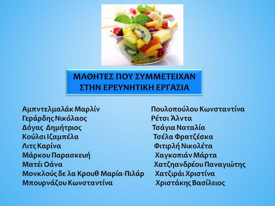 Οι βιταμίνες είναι τάξη οργανικών ενώσεων οι οποίες είναι απαραίτητες για την κανονική αύξηση και διατήρηση του οργανισμού.