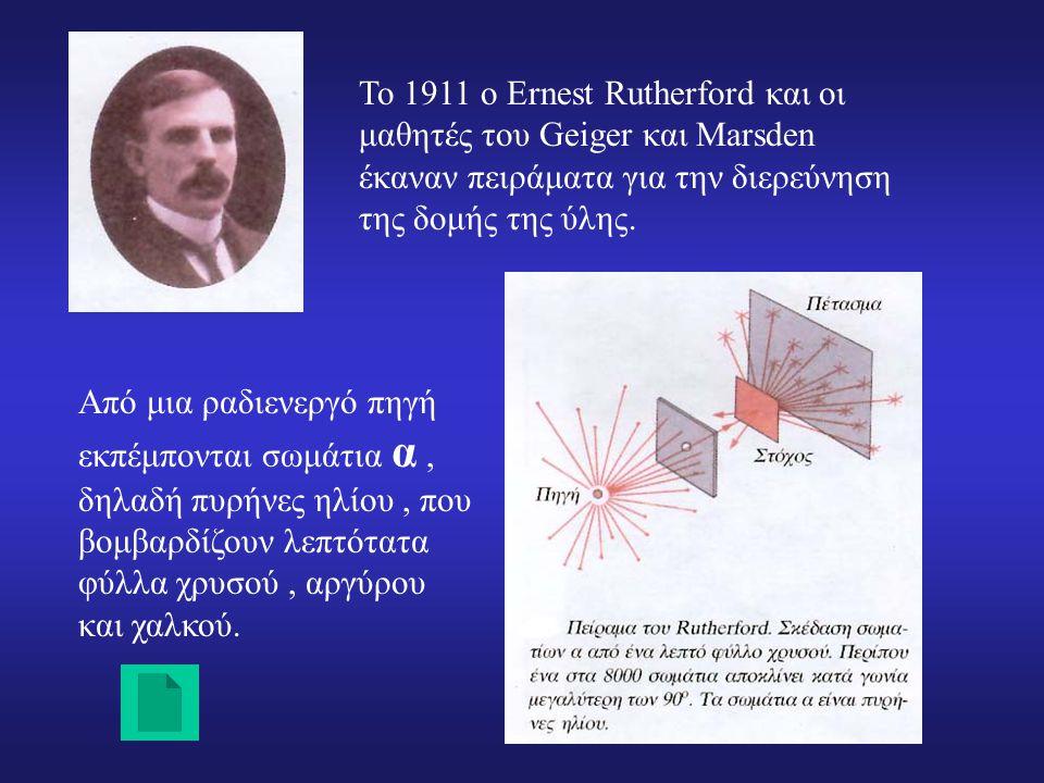 Το πρότυπο του Rutherford