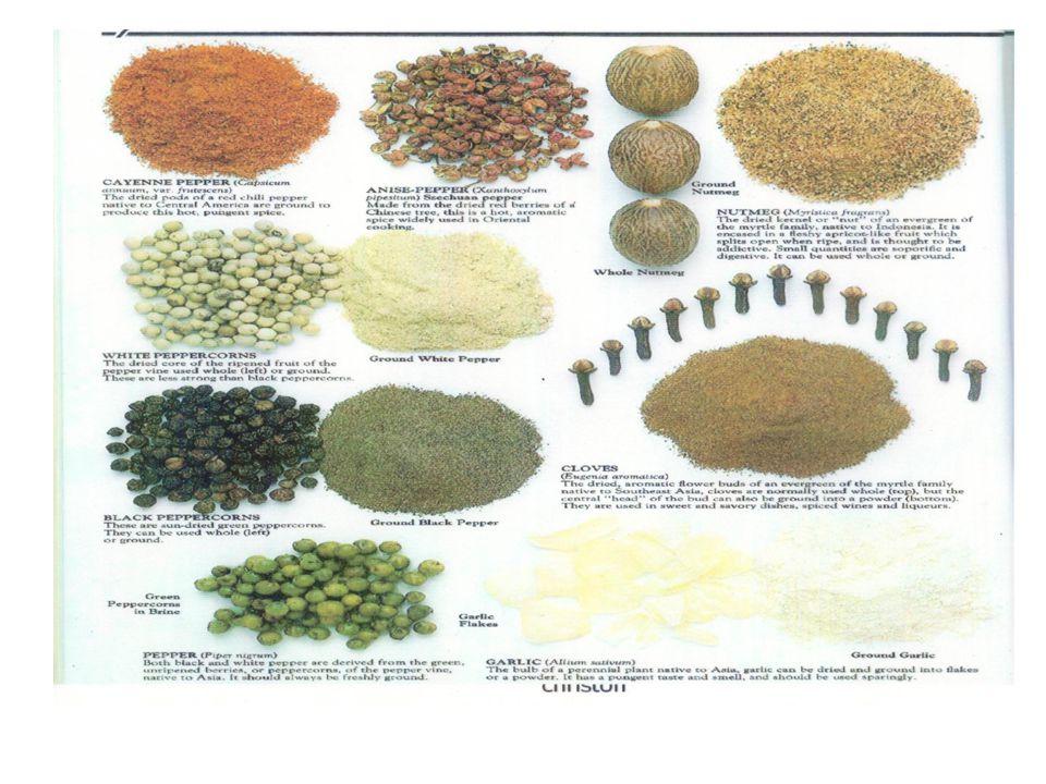 1.Nα Σχολιάσετε τη σημασία των καρυκευμάτων στη κουζίνα 2.
