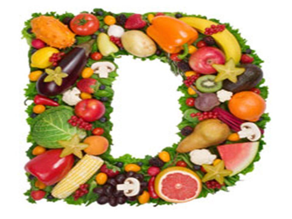 Βιταμίνη D ή Καλσιφερόλη Σε τι χρησιμεύει: 1) Βοηθά στη διαμόρφωση των οστών και των δοντιών, 2) στη διατήρηση της λειτουργίας της καρδιάς και του νευ