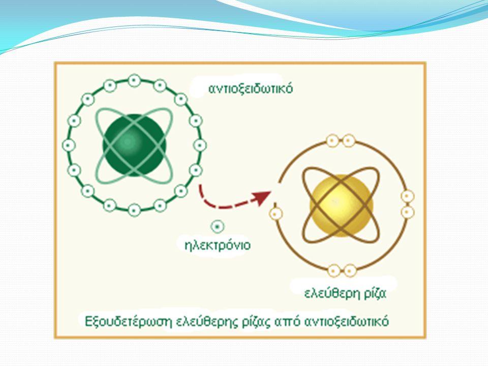 Ορισμός Μιλώντας για ελεύθερες ρίζες, αναφερόμαστε σε μόρια ή άτομα που έχουν ένα μοναχικό, αζευγάρωτο ηλεκτρόνιο στην εξωτερική τους στιβάδα. Αυτό κά