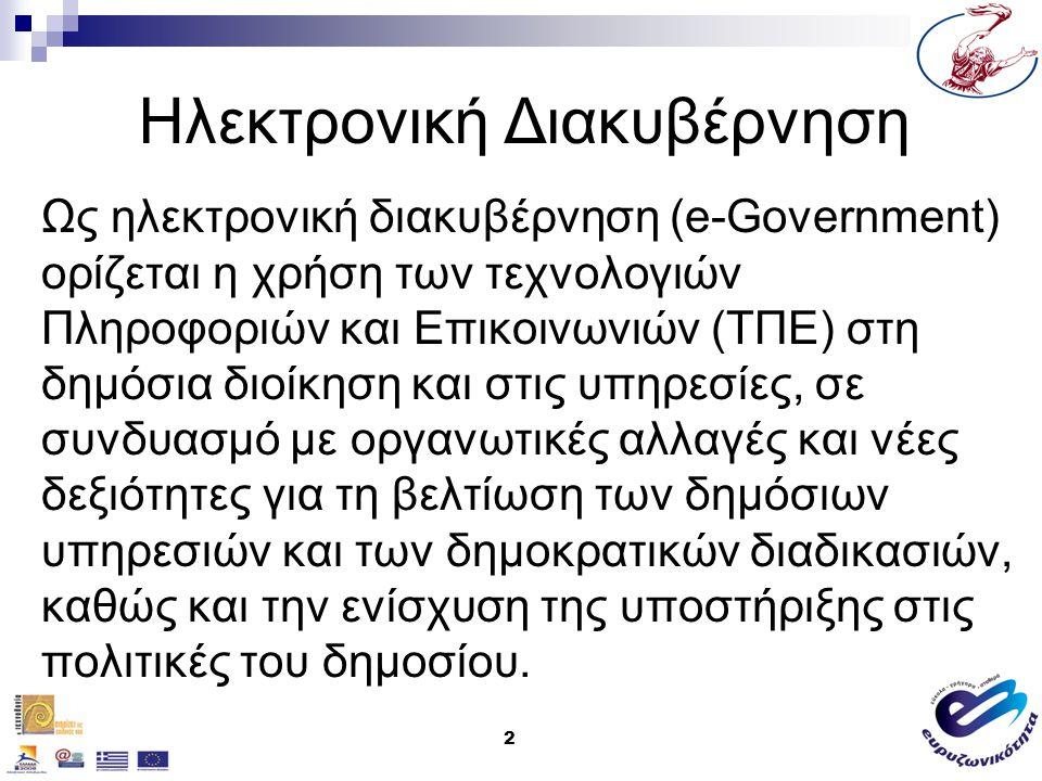 23 e-Δημοκρατία &Τοπική Αυτοδιοίκηση Ανακοίνωση όλων των δημόσιων συσκέψεων / συναντήσεων, με συστηματικό και αξιόπιστο τρόπο.