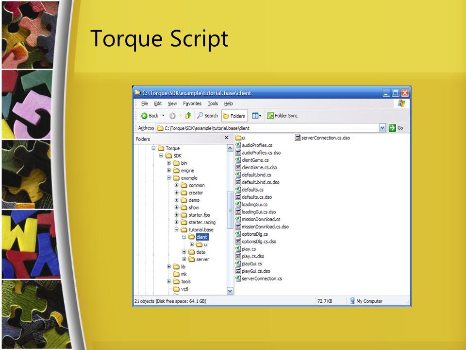 Torque Script