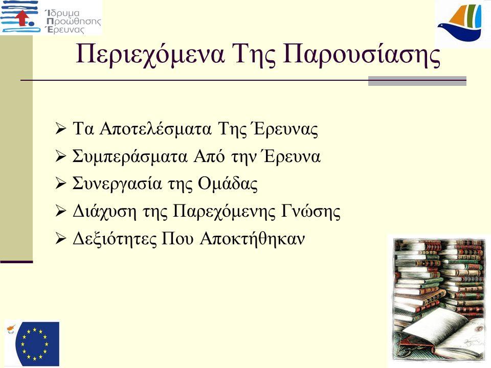 15 Περιορισμοί της Έρευνας  Μόνο στο Παγκύπριο Λύκειο Λάρνακας  Μόνο στους συμμαθητές μας της Γ' Λυκείου.
