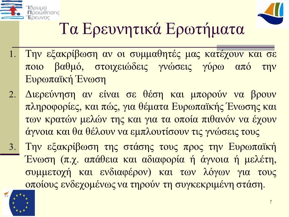 28 Συμπεράσματα  Ο ρόλος που διαδραμάτισε η μνημονιακή σύμβαση της Κύπρου, για την αρνητική στάση.
