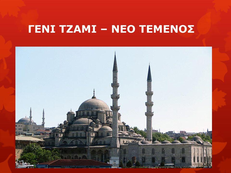 ΓΕΝΙ ΤΖΑΜΙ – ΝΕΟ ΤΕΜΕΝΟΣ