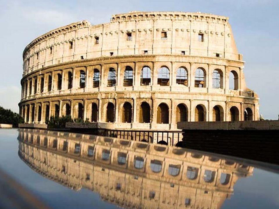 Κολοσσαίο – Ιταλία Αρχαίο αμφιθέατρο στη Ρώμη, όπου γίνονταν μονομαχίες.