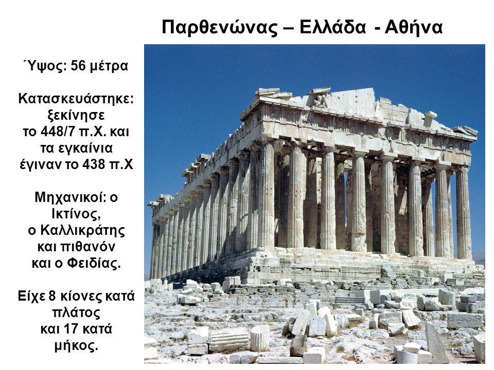 Τα διάσημα λιοντάρια της Δήλου – Ελλάδα Εδώ γεννήθηκαν η Άρτεμις και ο Απόλλωνας.