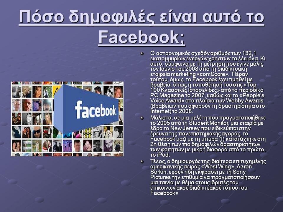 Κατάσταση στην Ελλάδα Αν θέλουμε να είμαστε ειλικρινείς, διαδίκτυο στην Ελλάδα σημαίνει Facebook και Youtube, όπου το δεύτερο οι περισσότεροι το ανακάλυψαν μέσω του πρώτου.