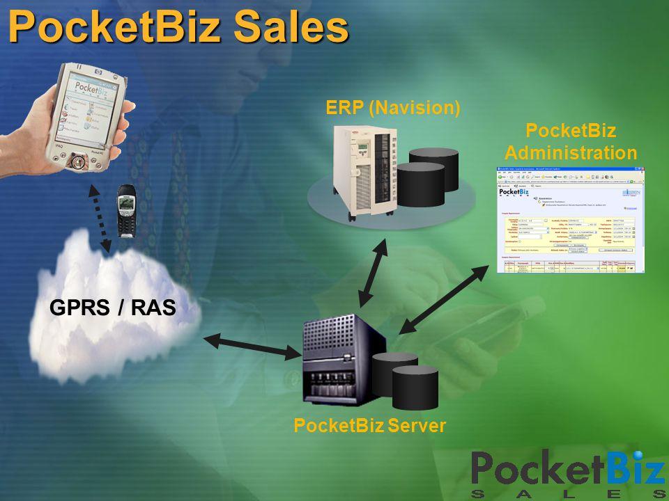 PocketBiz Sales Η παραγγελιοληψία και η τιμολόγηση στο χέρι του πωλητή Microsoft CRM Mobile PocketBiz Sales PocketBiz SmartPhone  Παραγγελιοληψία (πελάτες, είδη, τιμοκατάλογοι, στοκ αποθήκης, δρομολόγια, συμφωνίες πελατών, πρόταση παραγγελίας κτλ.)  Τιμολόγηση επί αυτοκινήτου  Διαχείριση Επιστροφών  Merchandising (καταγραφή facing, τιμοληψία, καταγραφή προωθητικών ενεργειών)  Καρτέλα πελάτη & ενηλικίωση υπολοίπου  Ταμείο (εισπράξεις από πελάτες & εξοδολόγιο πωλητή)  Στατιστική πωλήσεων & στόχοι πωλητή  Sell – Out  GPS support
