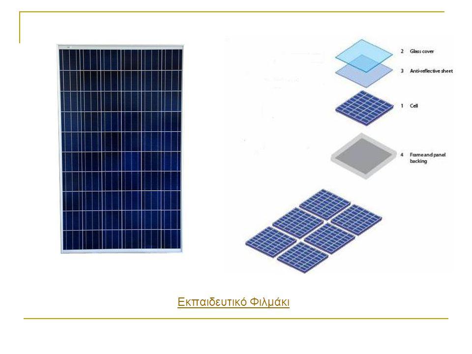 Τυπική δομή ενός φωτοβολταϊκού συστήματος που χρησιμοποιείται για την τροφοδότηση αυτόνομων καταναλωτών Ένα φωτοβολταϊκό σύστημα που χρησιμοποιείται για την τροφοδότηση αυτόνομων καταναλωτών αποτελείται από: (a)Φωτοβολταϊκή συστοιχία (b)Ελεγχτείς φόρτισης μπαταρίας (Charge controller) (c)Μπαταρίες (d)Μεταλλάκτης Τάσης (Inverter)