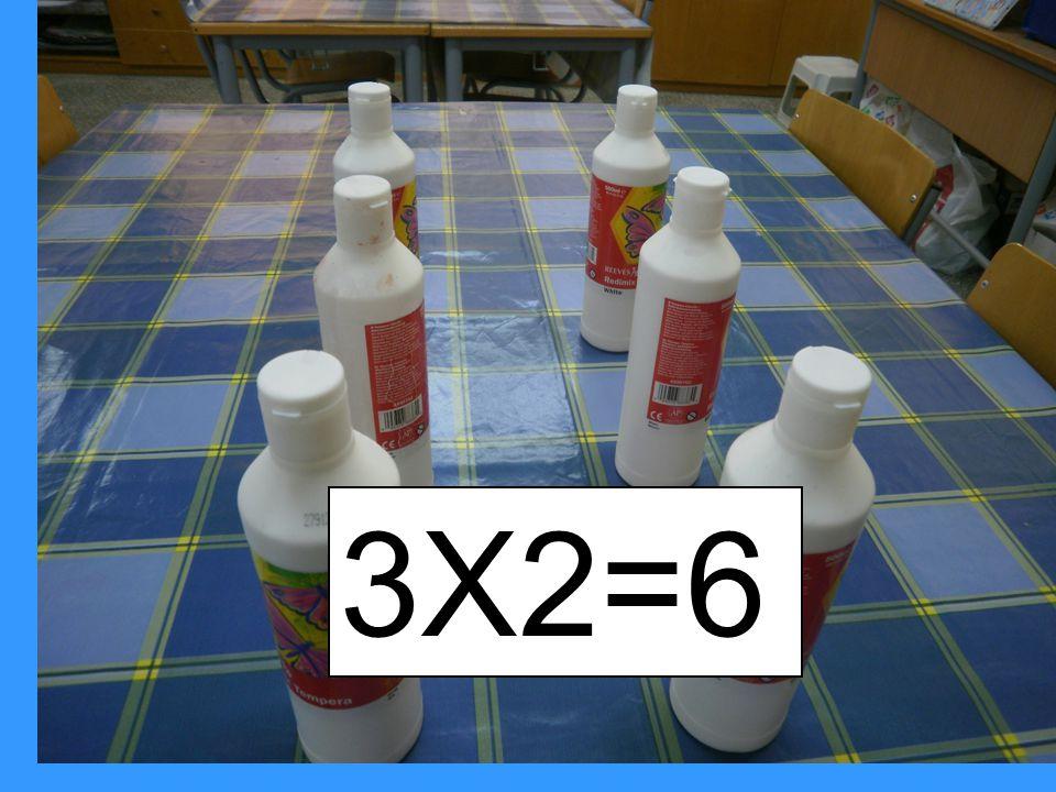 2Χ3=6
