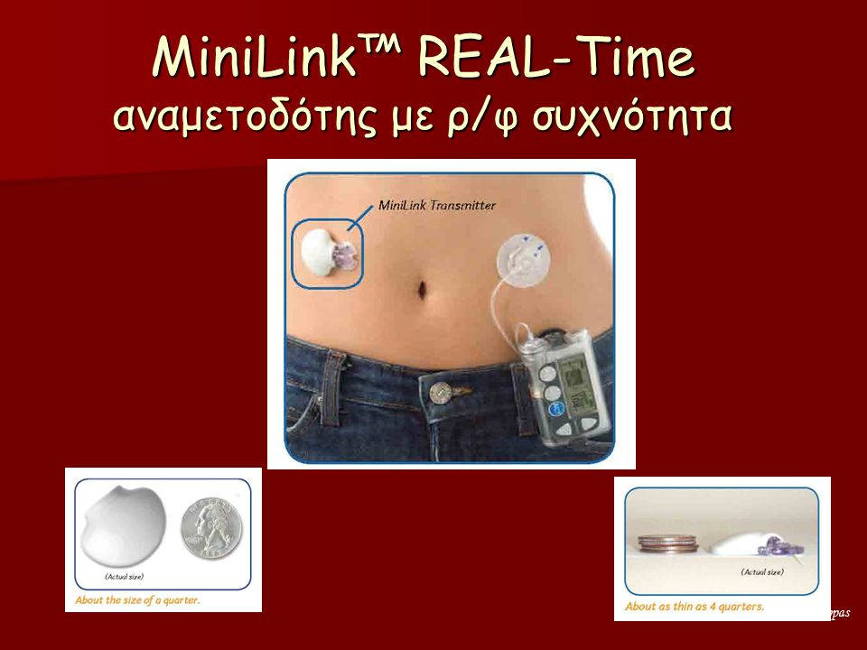 Angelos Pappas MiniLink™ REAL-Time αναμετοδότης με ρ/φ συχνότητα