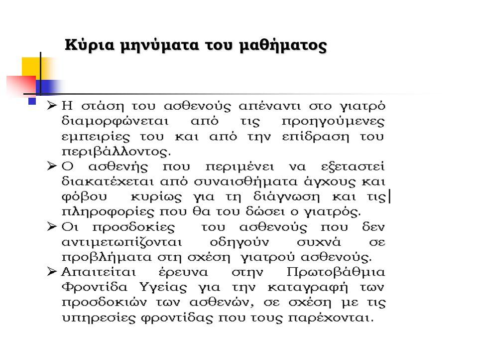 Το ενισχυμένο μοντέλο Calgary-Cambridge Πρώτη έκδοση 1998 Πρόσφατη έκδοση 2004 Διδασκαλία των δεξιοτήτων επικοινωνίας σε 3 διαγράμματα Για τους εκπαιδευόμενους και τους εκπαιδευτές (Silverman, Kurtz, Draper, 2005)