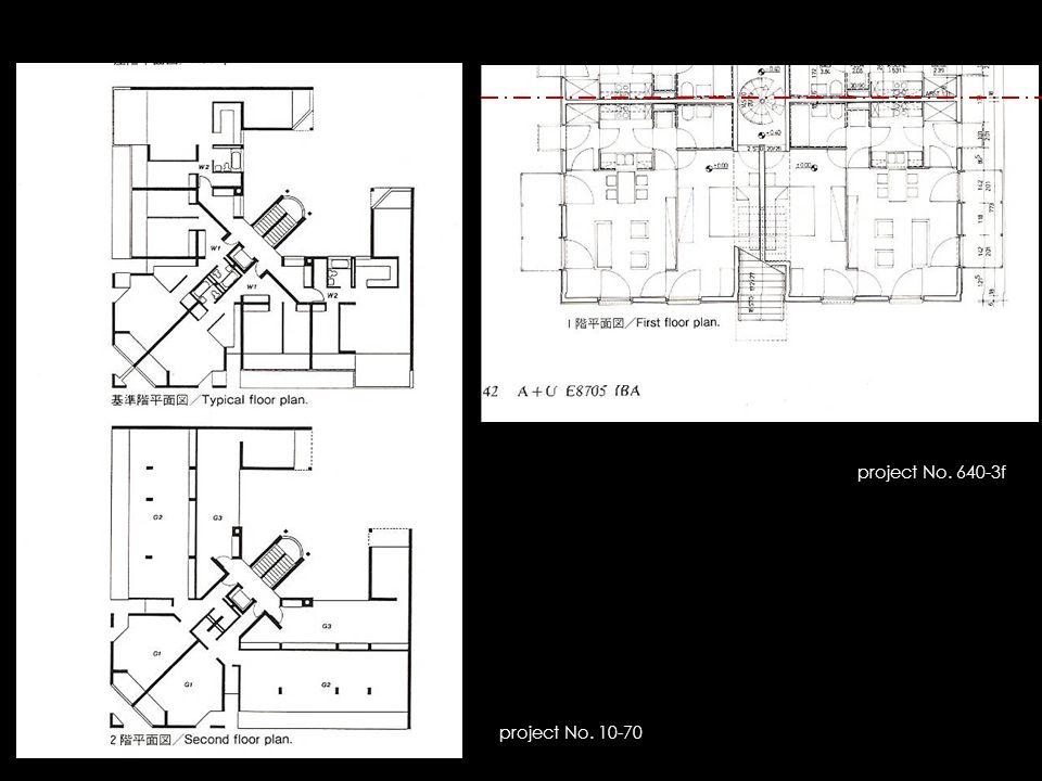 project No. 10-70 project No. 640-3f