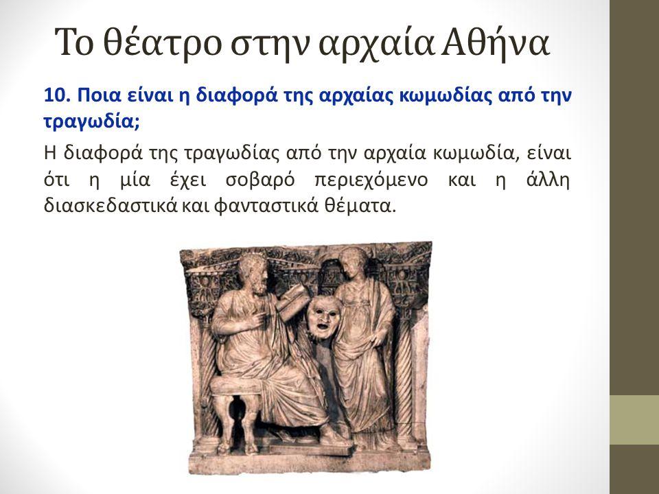 Το θέατρο στην αρχαία Αθήνα 11.