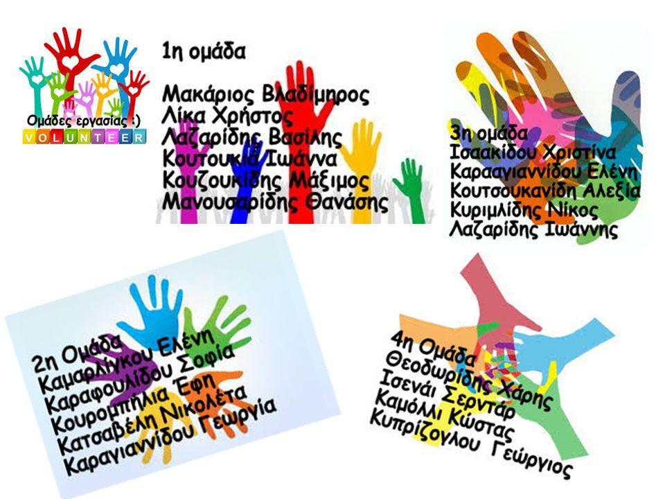 Το θέμα που διαλέξαμε για την Ερευνητική Εργασία μας είναι ¨Ο Εθελοντισμός ως Έννοια και ως Βίωμα¨ ΥΠΟΘΕΜΑΤΑ 1.Ο Εθελοντισμός, οι αξίες και τα κίνητρά του.