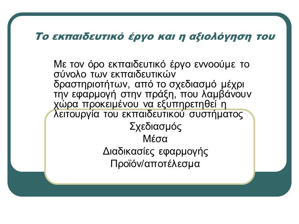 ΠΡΟΫΠΟΘΕΣΕΙΣ Δ.Η συστηματική επιμόρφωση των εκπαιδευτικών στον τομέα αυτό.
