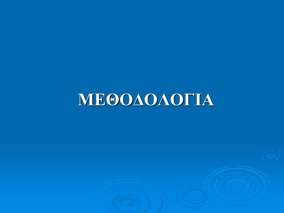 ΜΕΘΟΔΟΛΟΓΙΑ ΜΕΘΟΔΟΛΟΓΙΑ