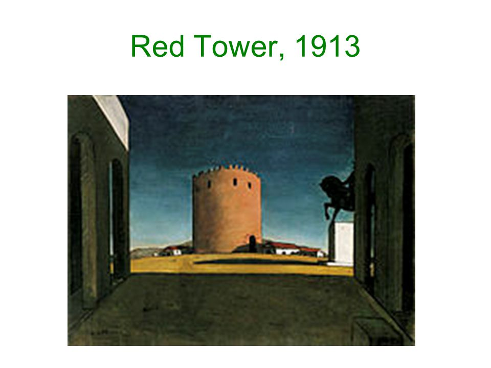 Red Tower, 1913
