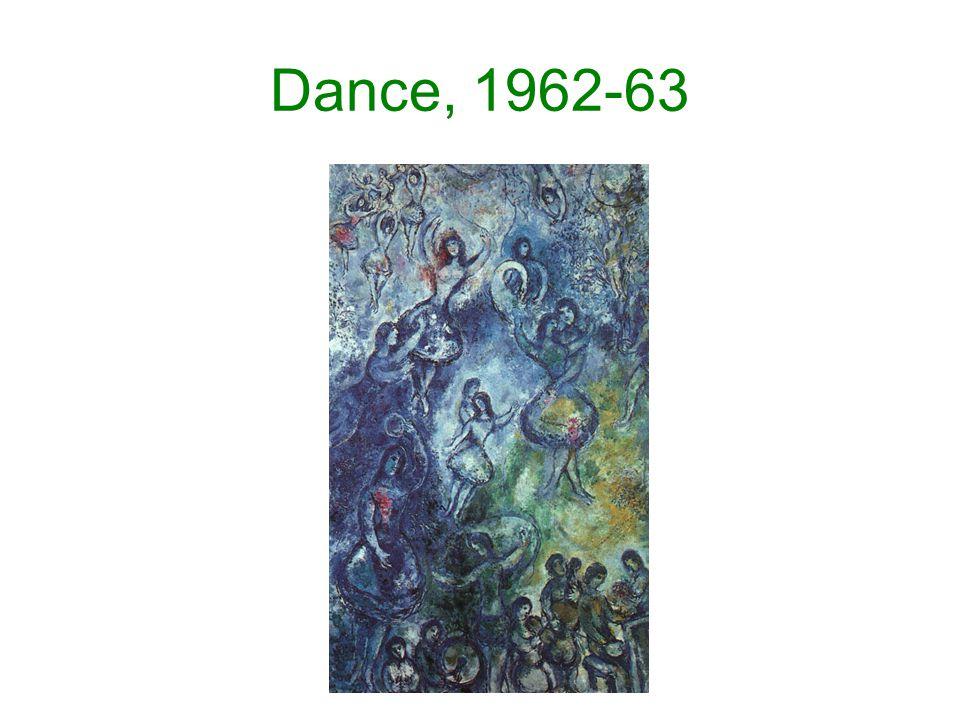Dance, 1962-63
