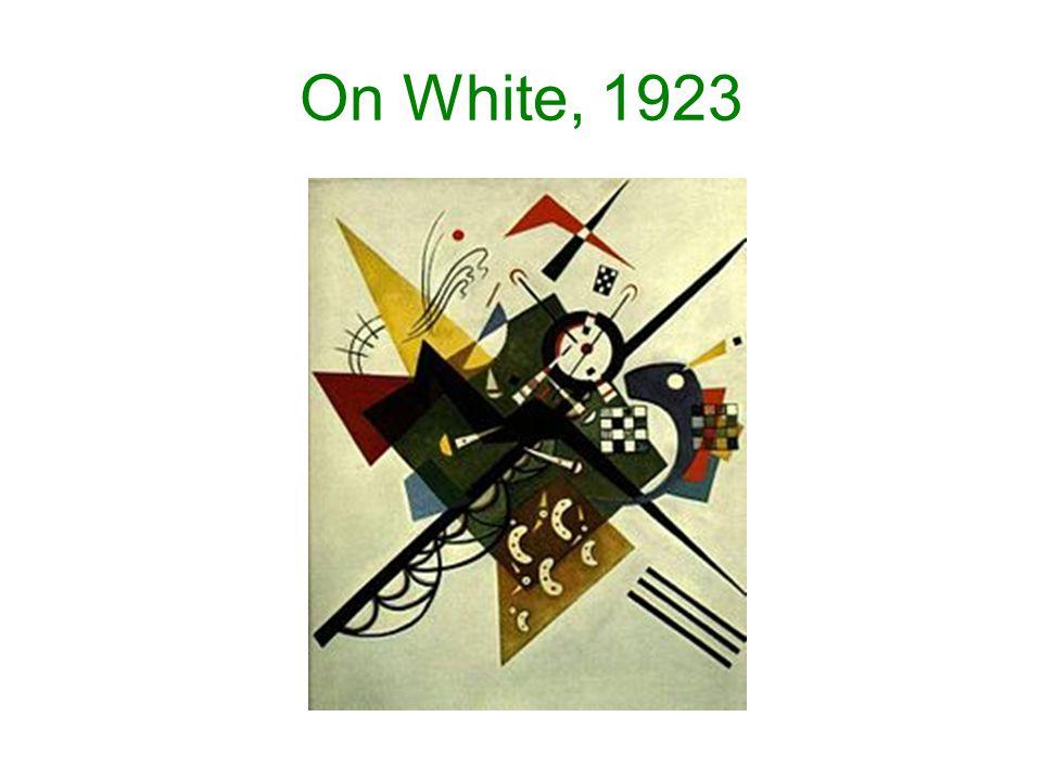 On White, 1923