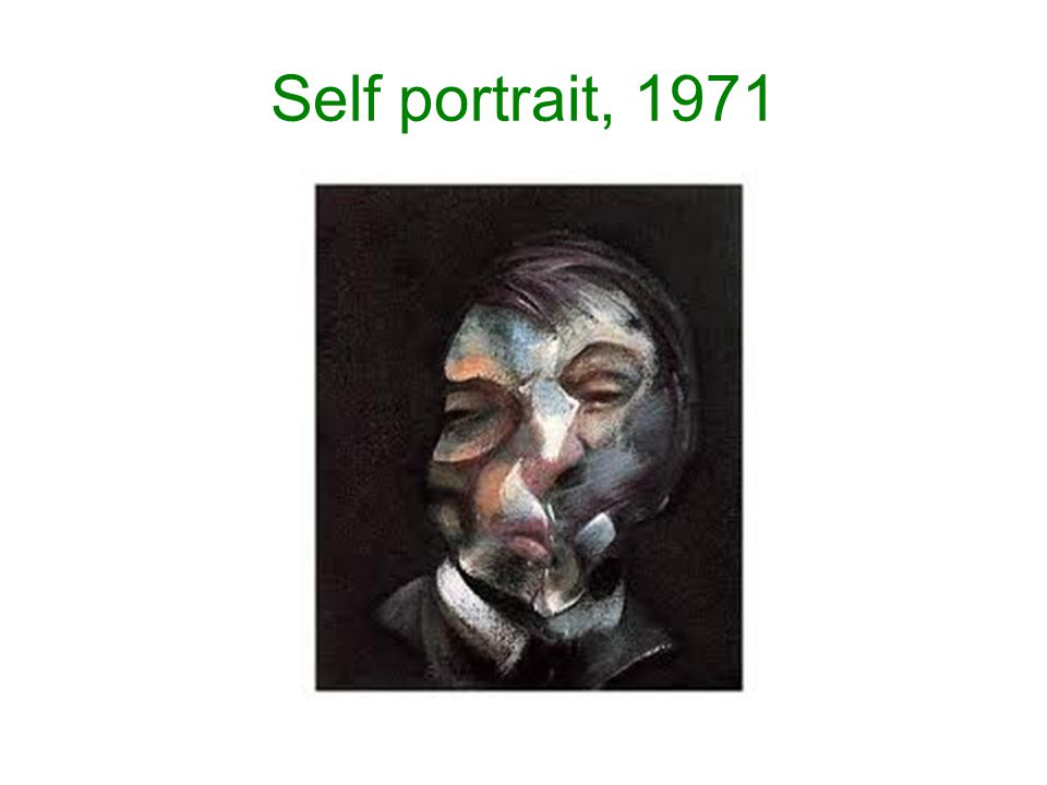 Self portrait, 1971