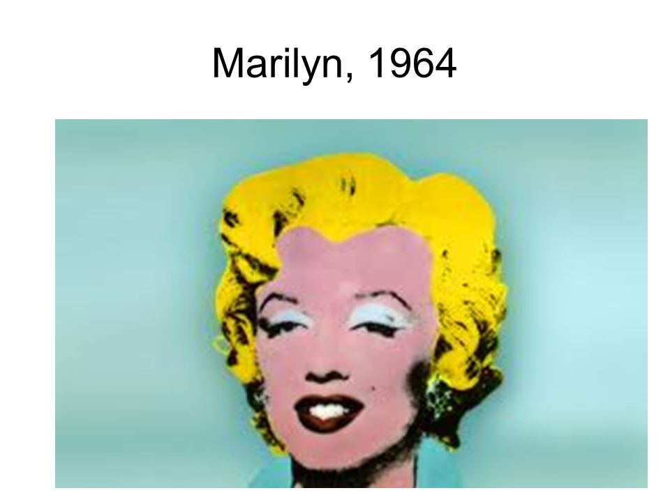 Marilyn, 1964