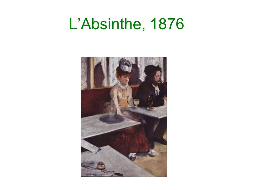 L'Absinthe, 1876